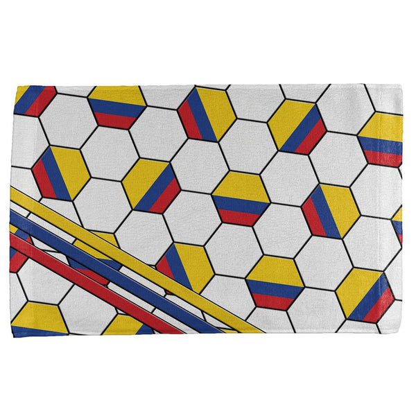 a5a102839 World Cup Colombia Soccer Ball All Over Sport Towel