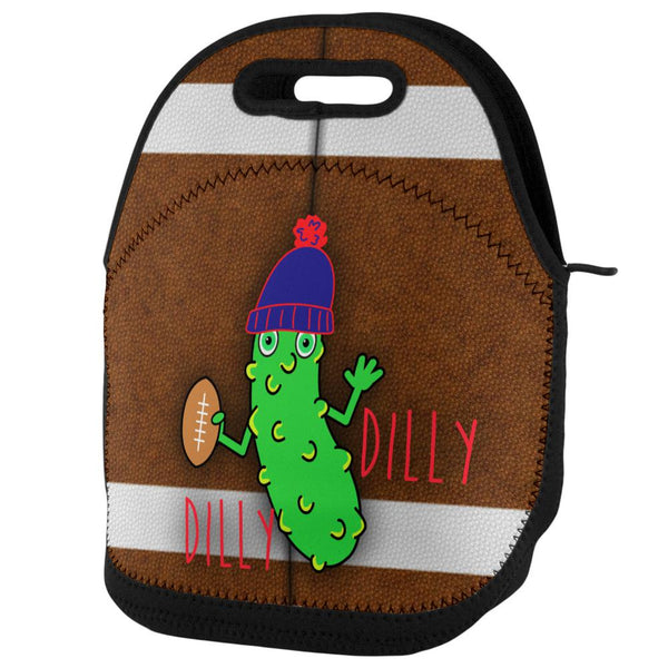 Vegetable Pickle Dilly Dilly Football Lunch Tote Bag