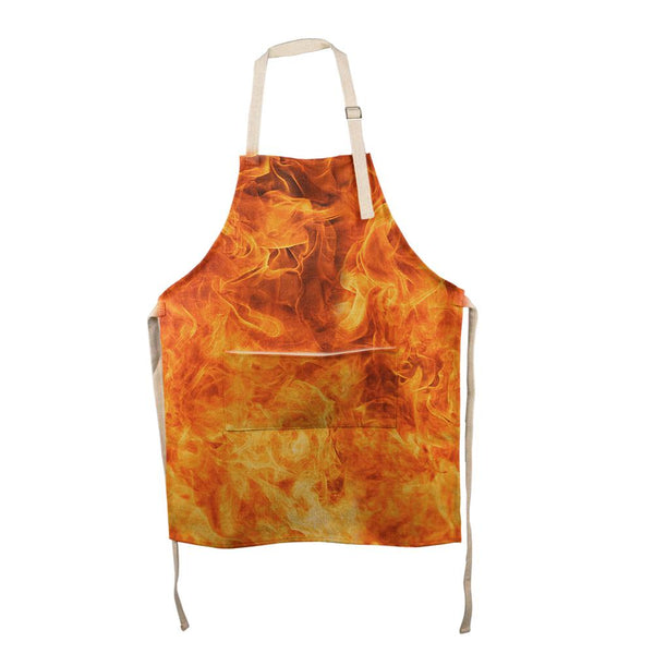 Flames All Over Apron
