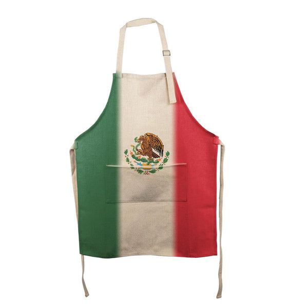 Cinco De Mayo Mexican Flag All Over Apron