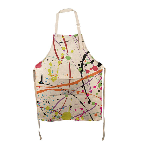 Splatter Paint All Over Apron