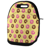 Frosted Donut Sprinkles Food Repeat Pattern Lunch Tote Bag