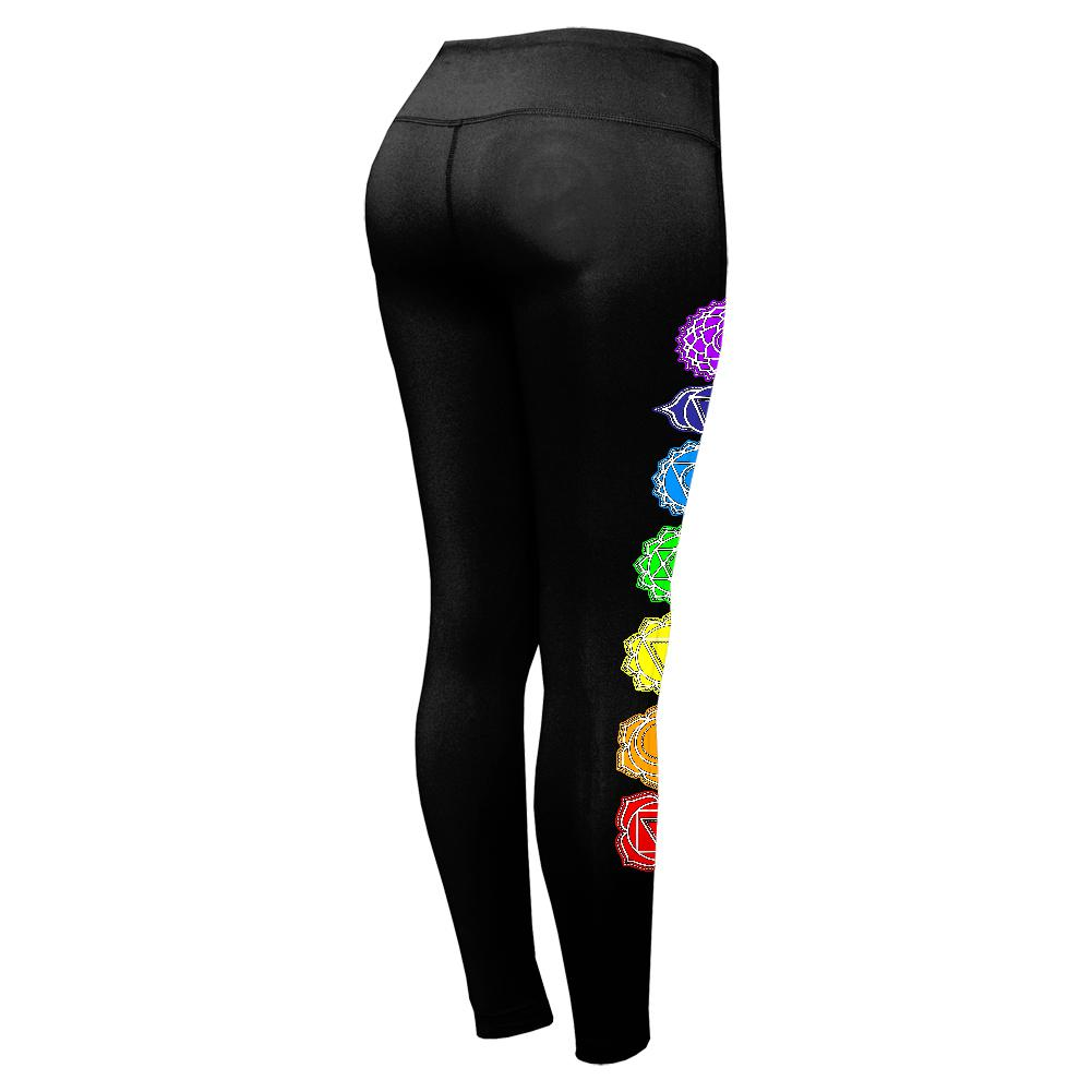 4442cede7b52a0 Color Your Chakras Bright Womens Performance Leggings – OldGlory.com