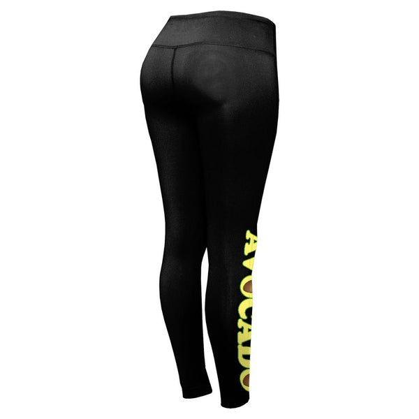 Cinco De Mayo Avocado Heart Womens Performance Leggings