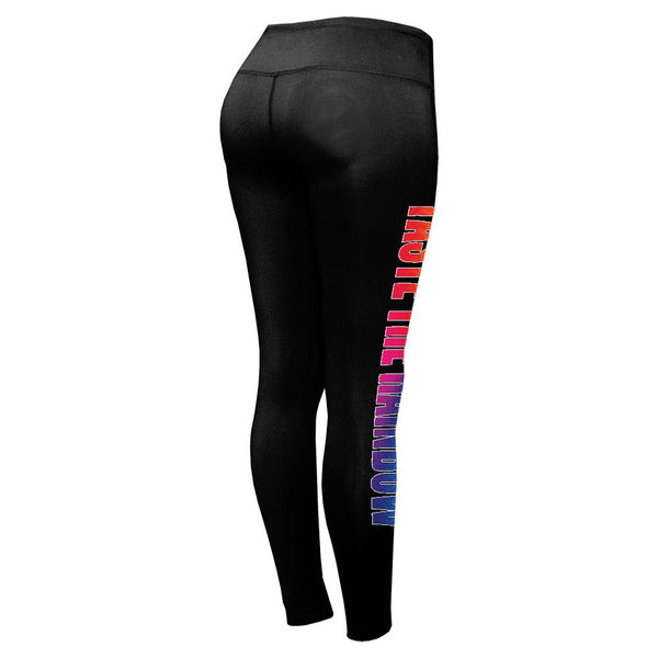 Taste the Rainbow Lesbian Funny Womens Performance Leggings