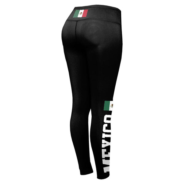 World Cup Mexico Womens Performance Leggings
