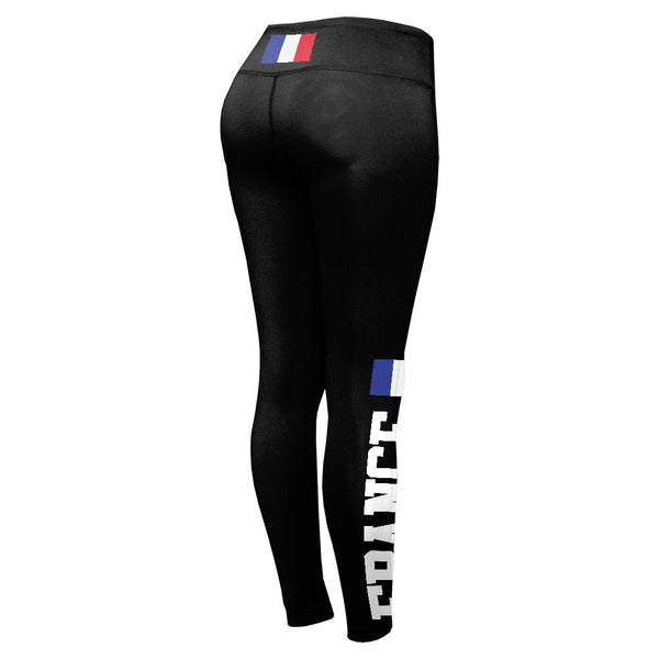 World Cup France Womens Performance Leggings