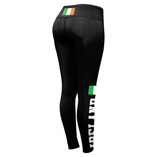 St Patricks Day Ireland Flag World Cup Womens Performance Leggings
