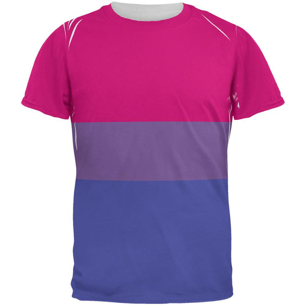 LGBT Bisexual Pride Flag All Over Mens T Shirt