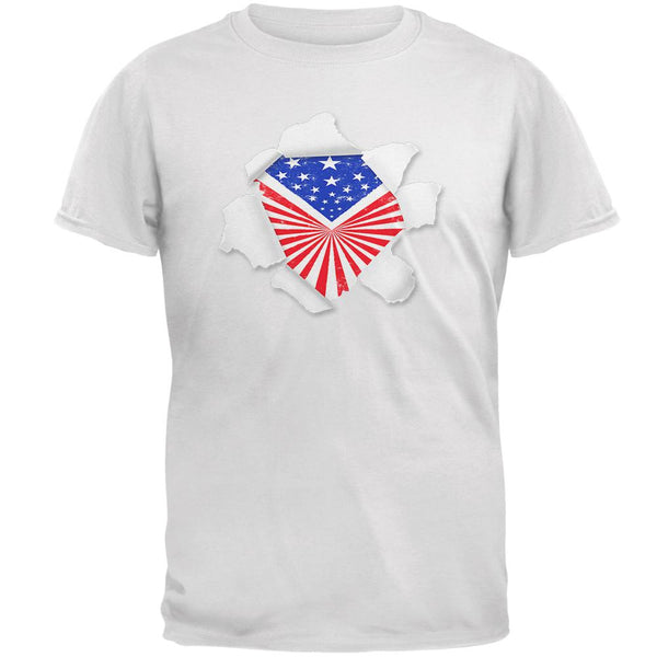 4th of July Bursting with Pride Mens T Shirt