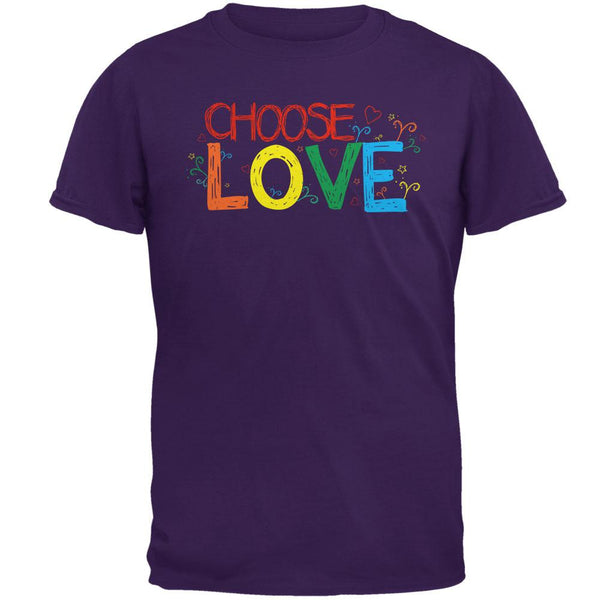 LGBTQ Choose Love Mens T Shirt
