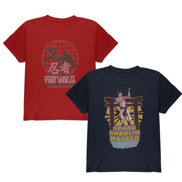 Classic Martial Arts - Series One 2 Piece Youth T-Shirt Collector's Combo