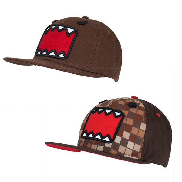 Domo - Faces 2 Piece Adjustable Baseball Cap Combo