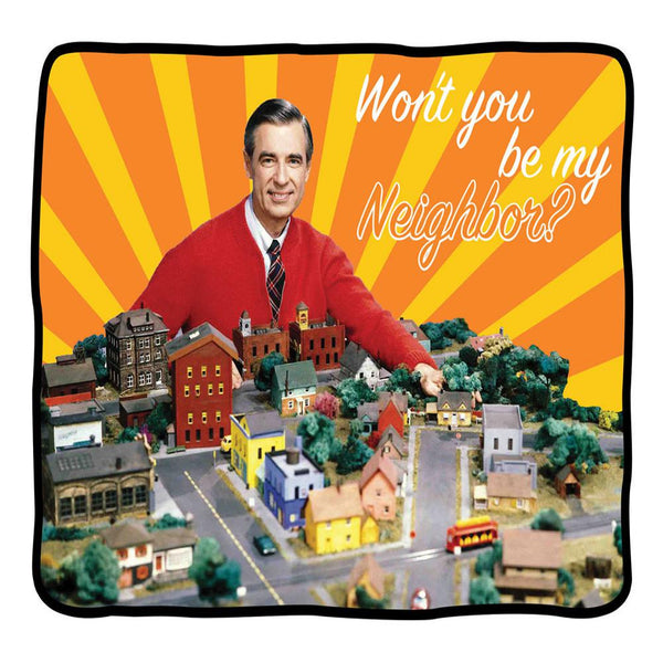 Mr. Rogers - Would You Be My Neighbor Fleece Blanket