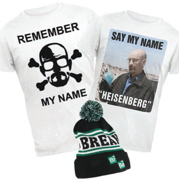 Breaking Bad - Mind Blowing Gift Pack