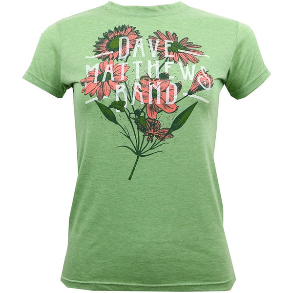 Dave Matthews Band - Flowers Juniors T Shirt