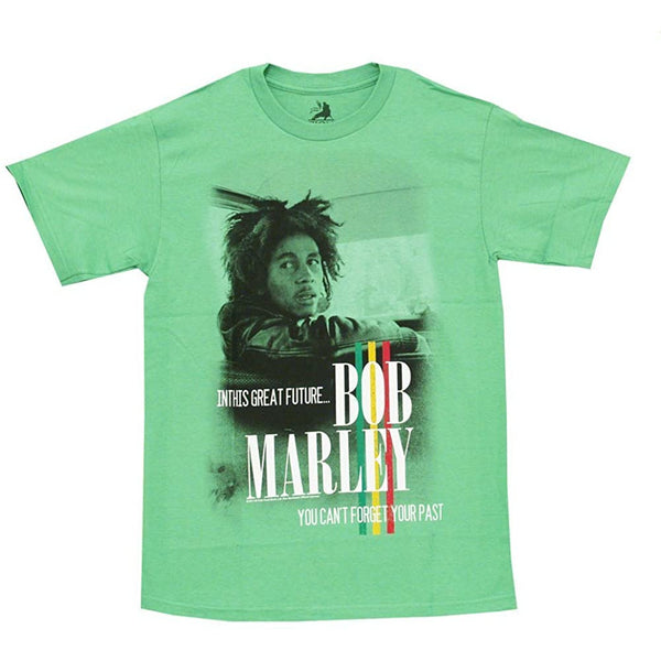 Bob Marley - Forget Your Past Mens T Shirt