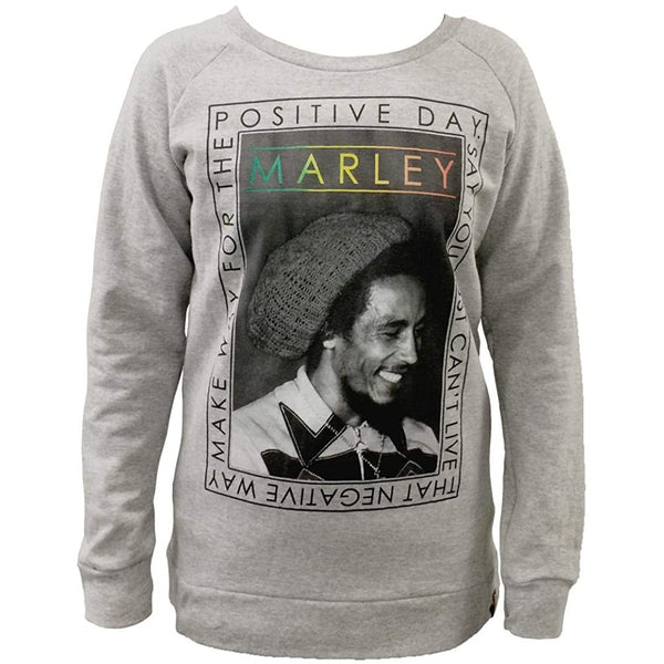 Bob Marley - Positive Day Juniors Sweatshirt