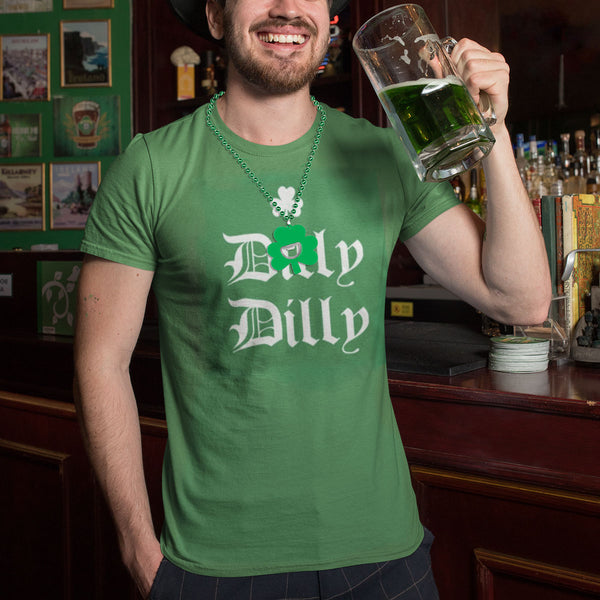 Dilly Dilly Shamrock Men's T Shirt - front view