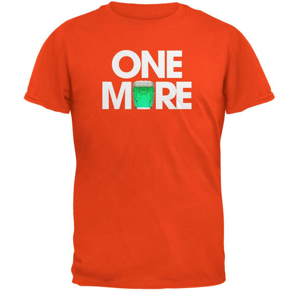 St. Patricks Day - One More Orange Adult T-Shirt