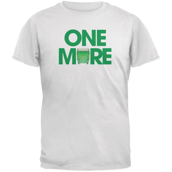St. Patricks Day - One More White Adult T-Shirt
