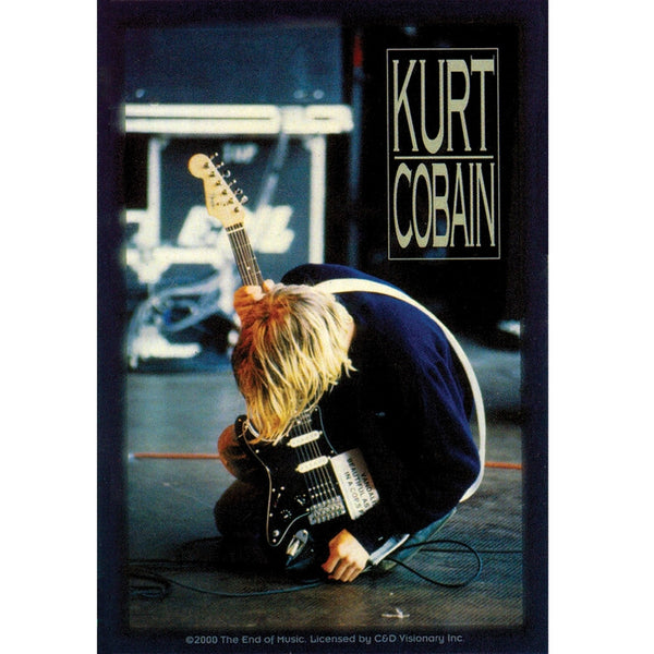 Kurt Cobain - Jammin' Sticker