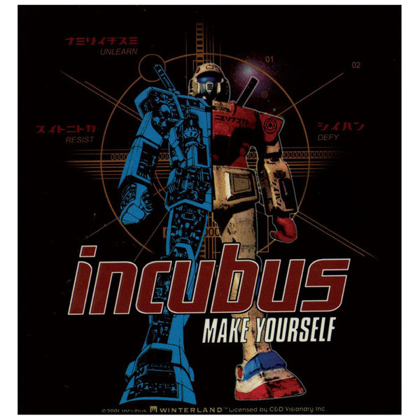 Incubus - Make Yourself Sticker