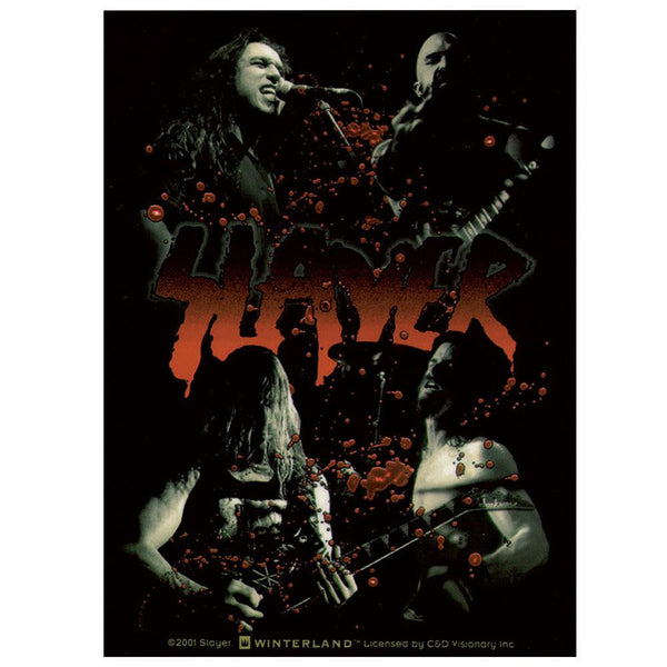 Slayer - Blood Photo Sticker
