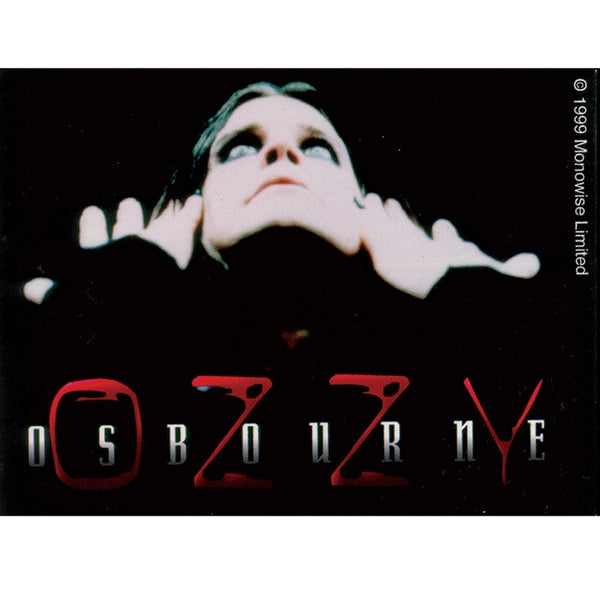 Ozzy Osbourne - Hands & Face Sticker