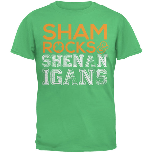 St. Patricks Day - Shamrocks & Shenanigans Irish Green Youth T-Shirt