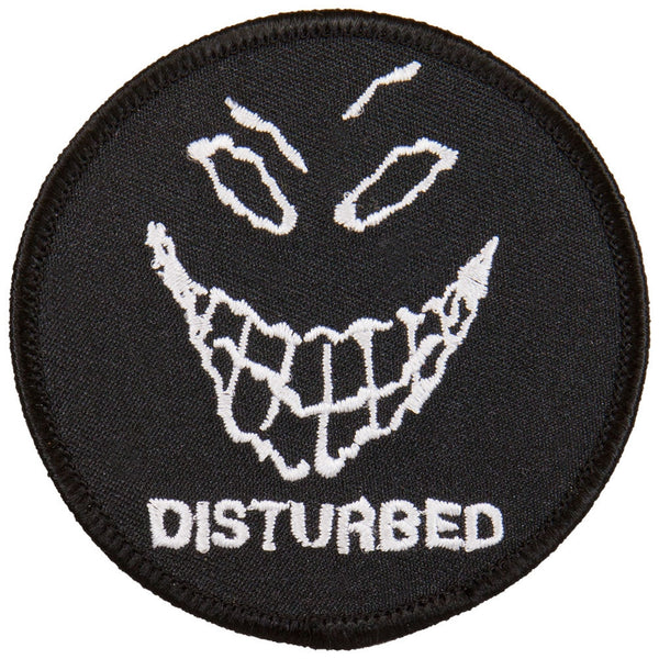 Disturbed - Evil Grin Patch