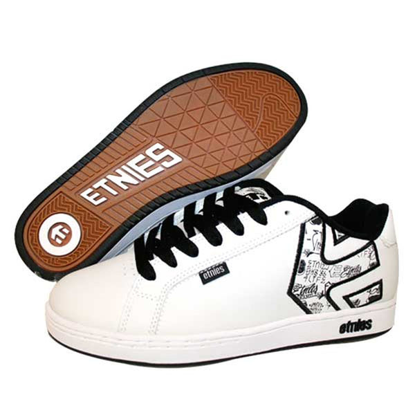 Etnies - Fader White Shoes
