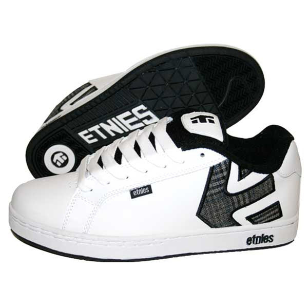 Etnies - Fader White & Black Shoes