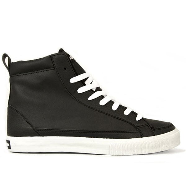 The Hundreds - Wayne High Top Black Sneakers