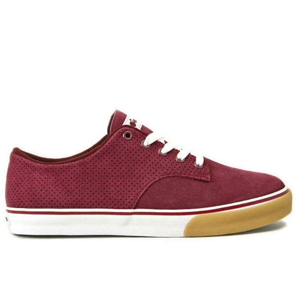The Hundreds - Johnson Low Top Burgundy Shoes