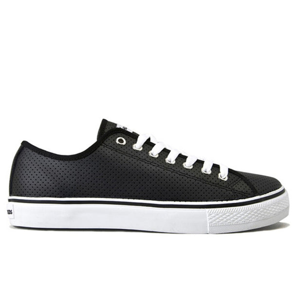 The Hundreds - Valenzuela Low Top Black Shoes