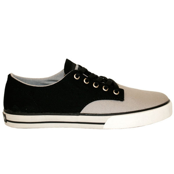 The Hundreds - Johnson Low Top Black & Grey Shoes