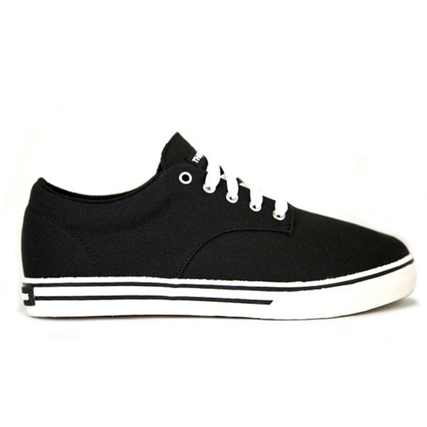 The Hundreds - Johnson Low Black Canvas Shoes