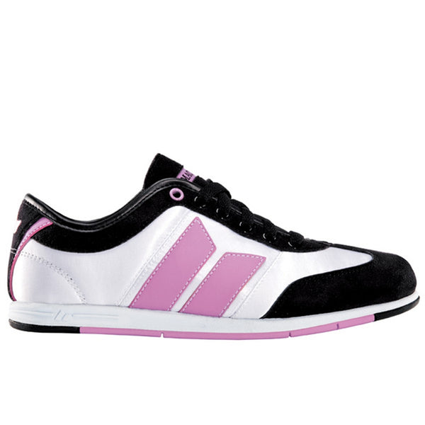 Macbeth - Brighton Black Cream & Orchid Satin Women's Shoes