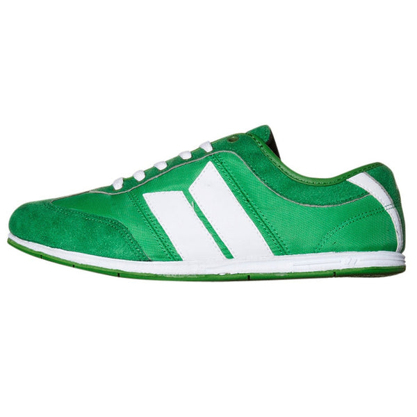 Macbeth - Brighton Green & White Shoes