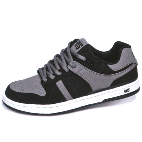 FMS - Amp Low Top Black Grey Shoes