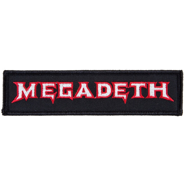 Megadeth - Logo Patch