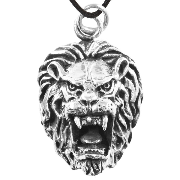 Lion Head - Pendant Necklace