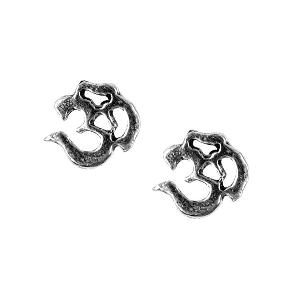 Stud Earrings - Om