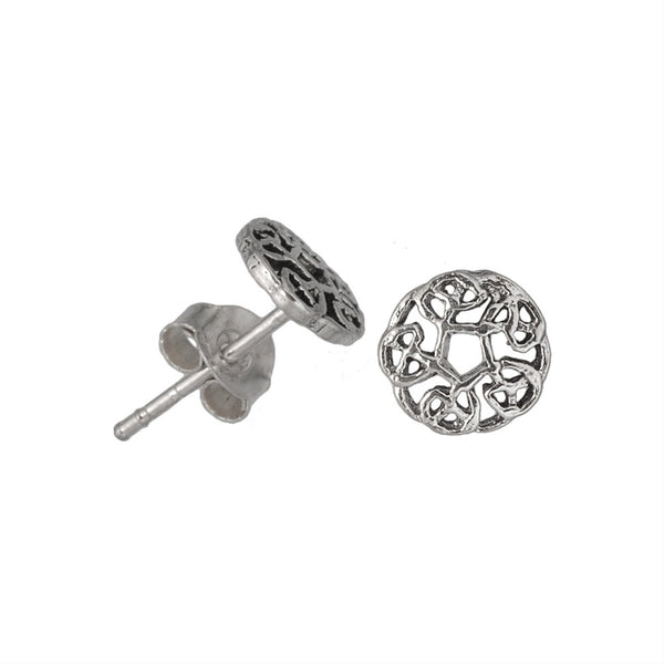 Celtic Knots Circle - Stud Earrings