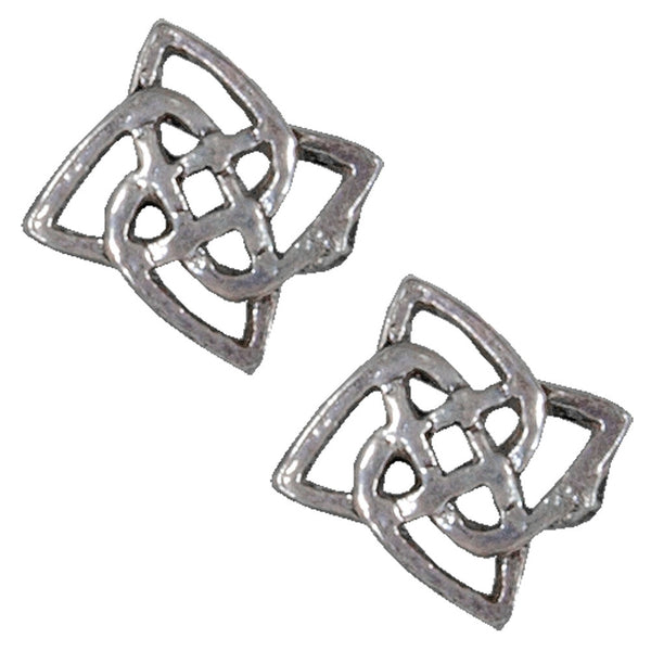 Celtic Flower Knot - Stud Earrings