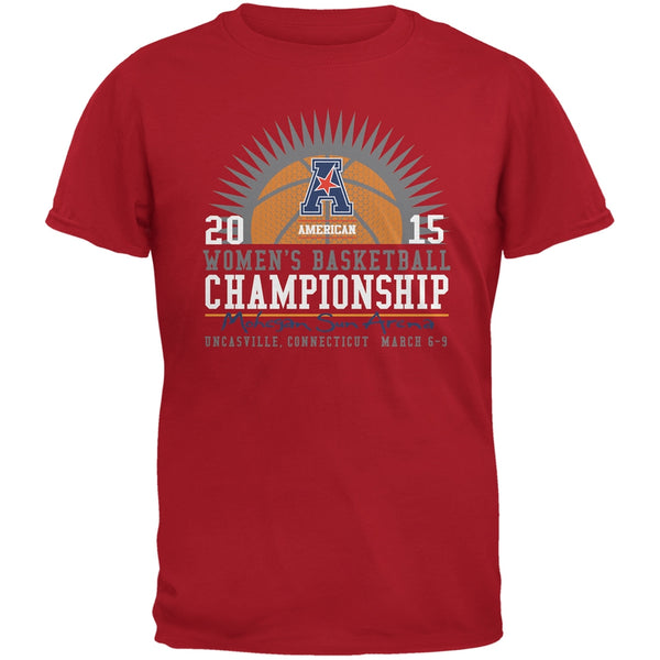 American Womens Championship Rays - Red Adult T-Shirt