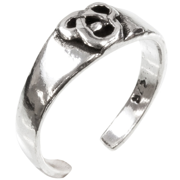 Celtic Knot Sterling Silver Toe Ring