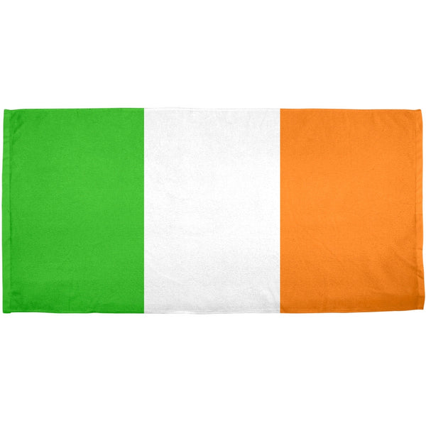 St Patricks Day - Irish Flag All Over Bath Towel