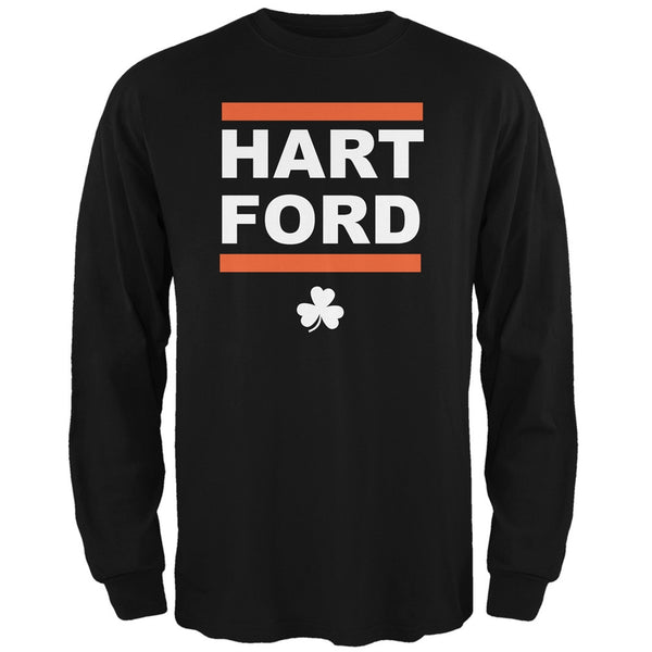 St. Patrick's Day - Hart-Ford Black Adult Long Sleeve T-Shirt